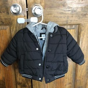 Baby GAP boys winter bomber jacket
